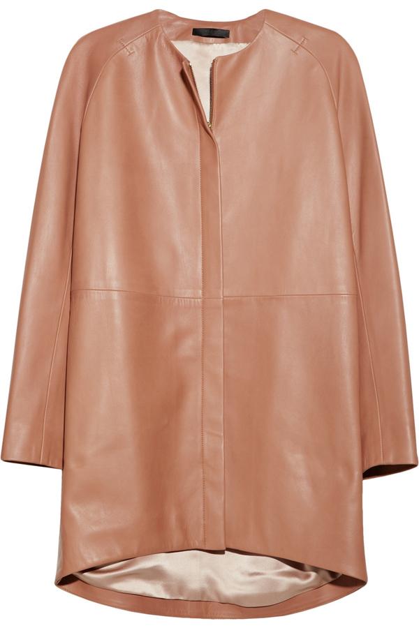 Oversized Leather Coat