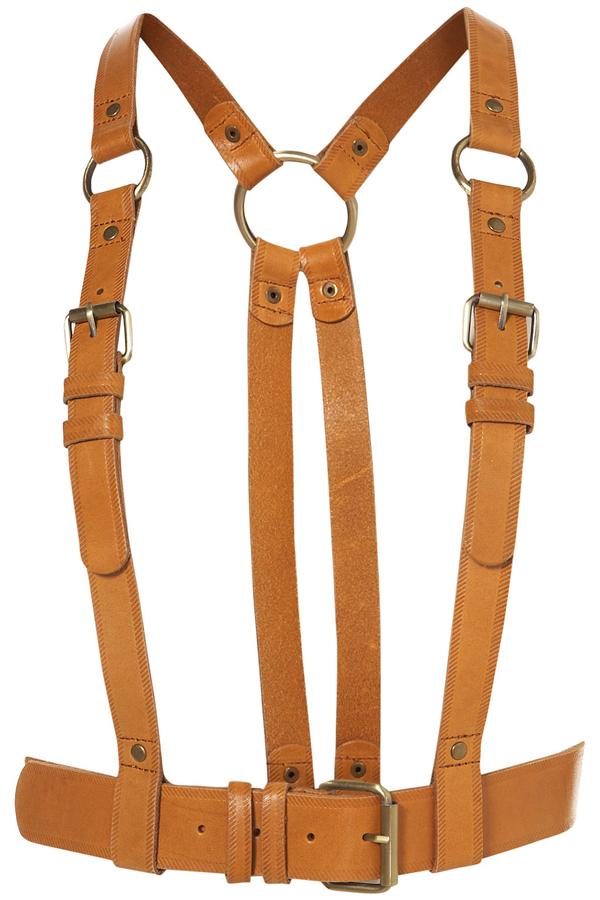 Multi-Buckle Harness Belt