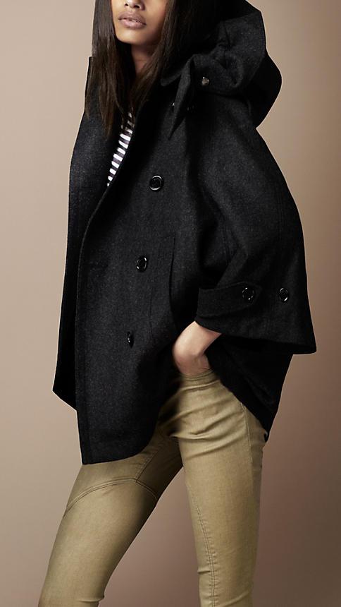 Stylish Swing Wool Coat