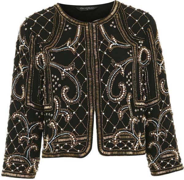 Baroque Embellished Jacket