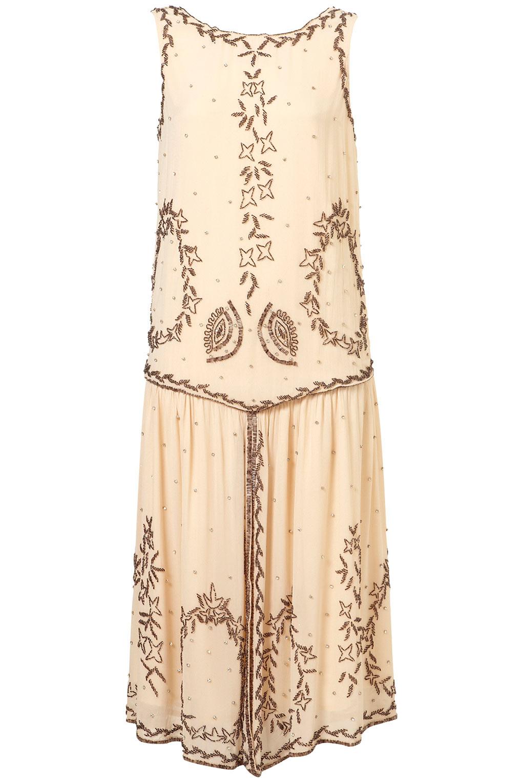 Beaded Art Deco Dress