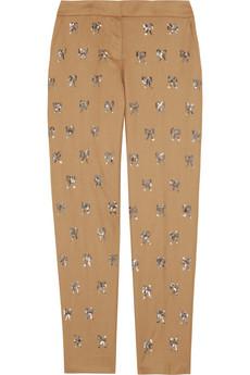 Bow Embellished Pants