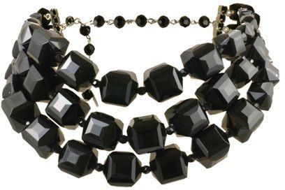 Three Row Choker Necklace