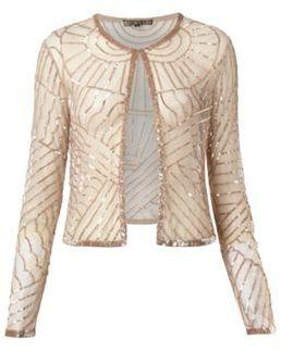 Art Deco Embellished Jacket