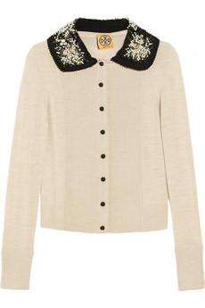 Embellished Collar Cardigan