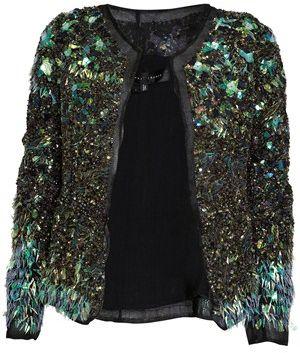 Embroidered Embellished Jacket