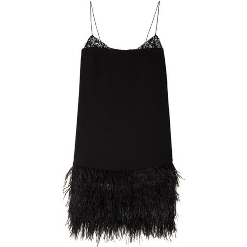 Feather Art Deco Dress