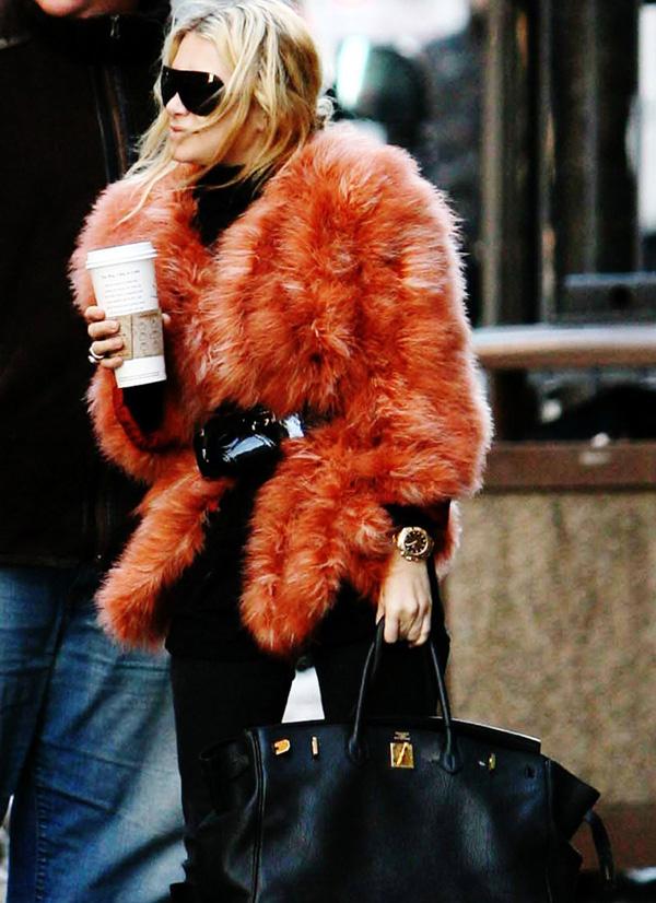 Colorful Faux Fur