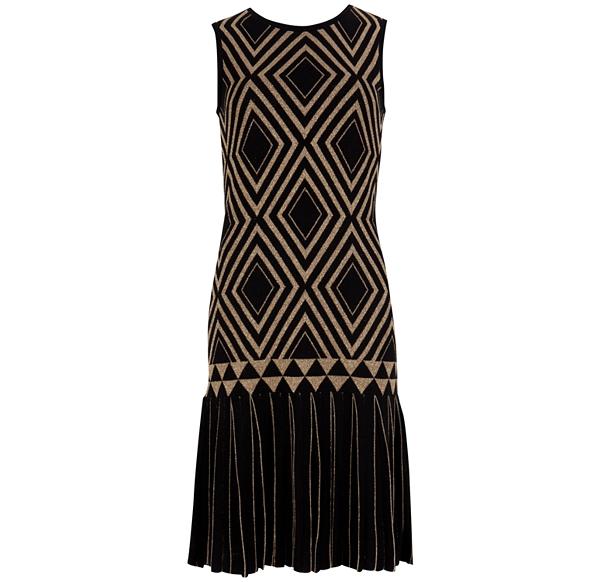 Drop Waist Art Deco Dress