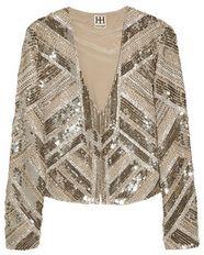 Metallic Embellished Jacket