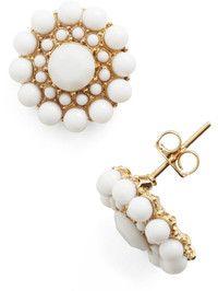 My Own Rendition Earrings in White