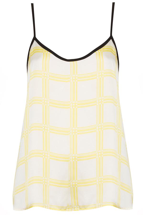 Checkered Camisole