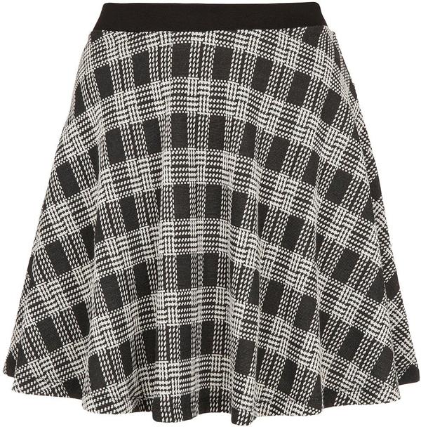 Full Checkered Skirt
