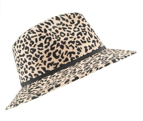 Leopard Print Hat