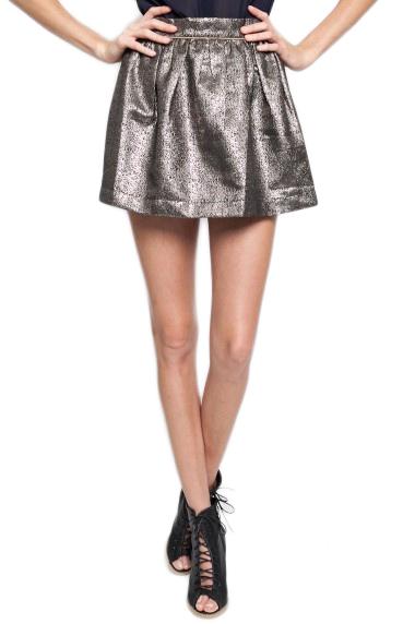 Stardom Metallic Skirt