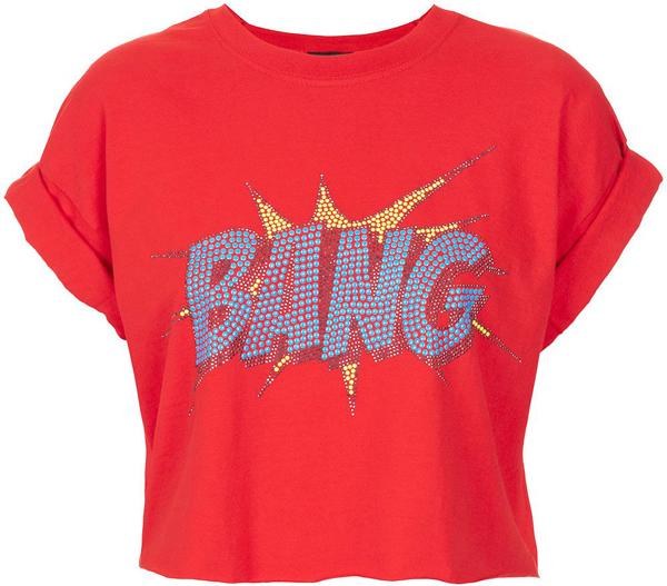 Bang Crop Top