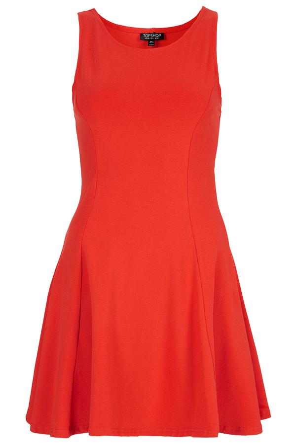 Bright Flame Dress