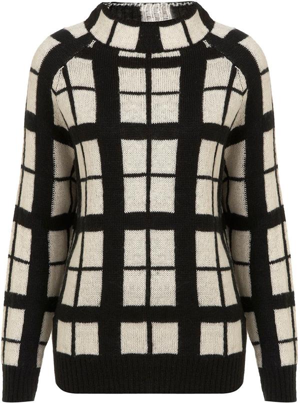 Checkered Jumper