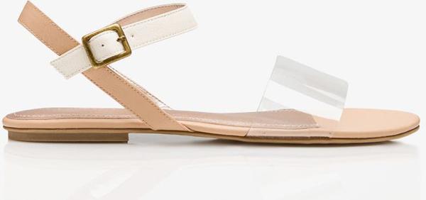 Clear Vamp Sandals