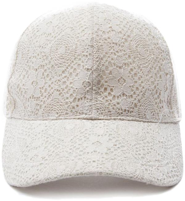 Crocheted Baseball Cap