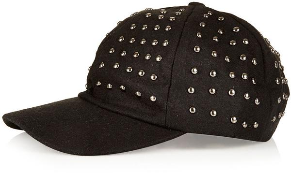 Studded Baseball Cap