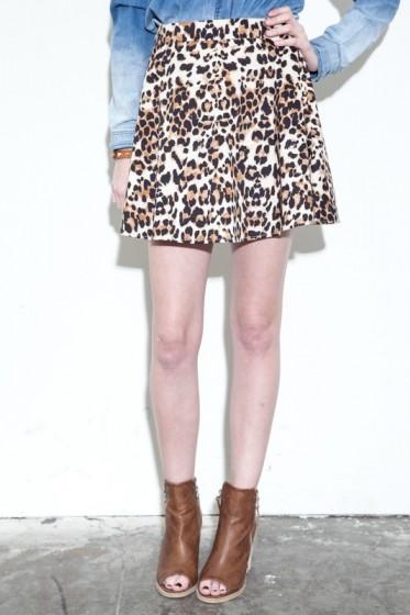 Fierce Feline Skirt