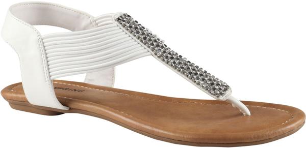 Milesant Flat T-Strap Sandals