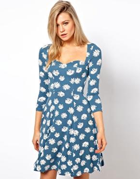 The Daisy Print Dress…