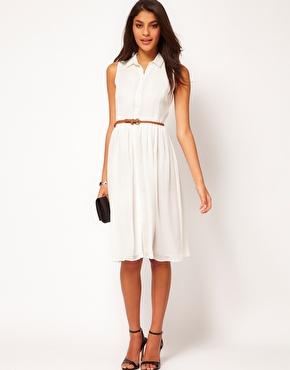 The Midi Shirt Dress…