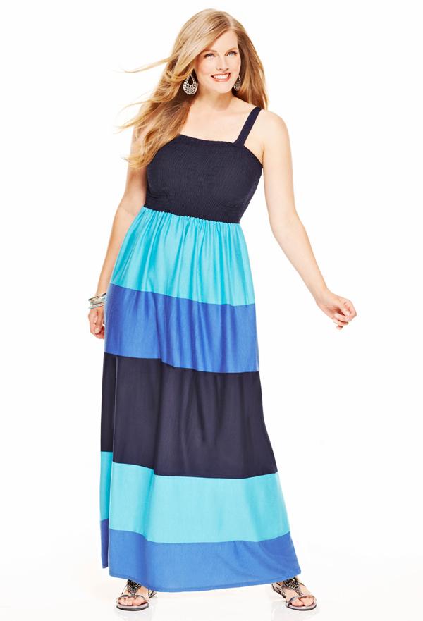 Detachable Strap Maxi Dress