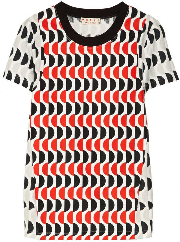 Geometric Printed T-shirt