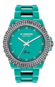 K&BROS 3 Hands Quartz Polyurethane Watch