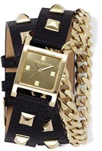 Studded Wrap Watch