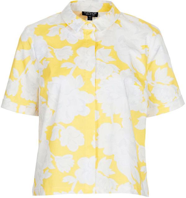 Floral Boxy Shirt