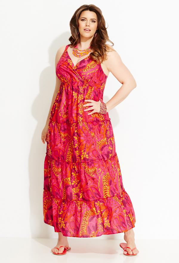Floral Burst Maxi Dress