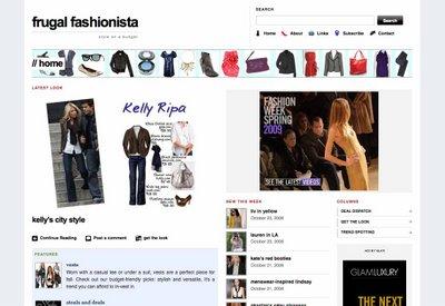 Frugal Fashionista by Sally Glover
