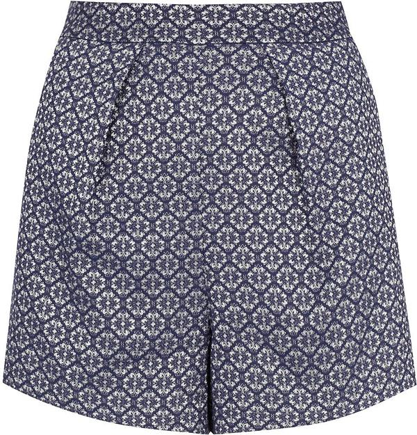 Geometric Printed Shorts