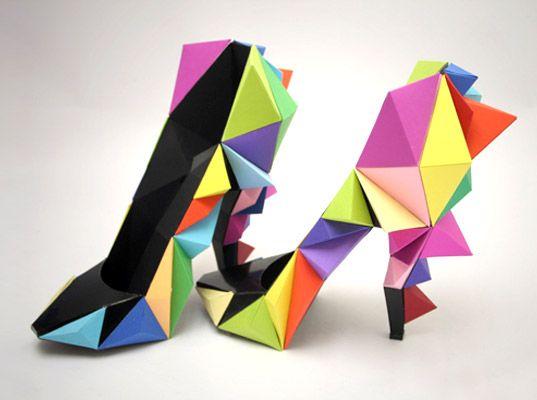 Origami Heels