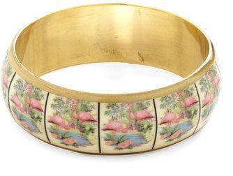 Flamingo Print Bracelet