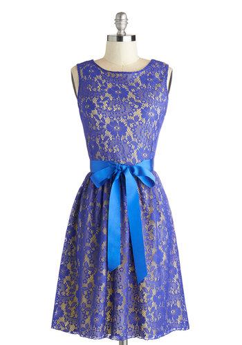 Looking like a Million Dress in Blue Iris