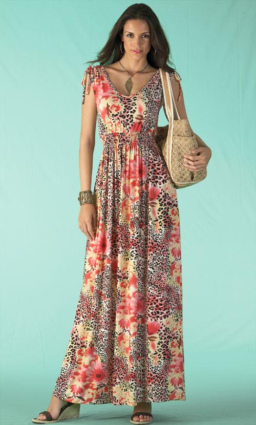 Long Summer Dresses for Little Girls