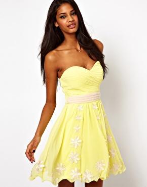 The Strapless Dress…