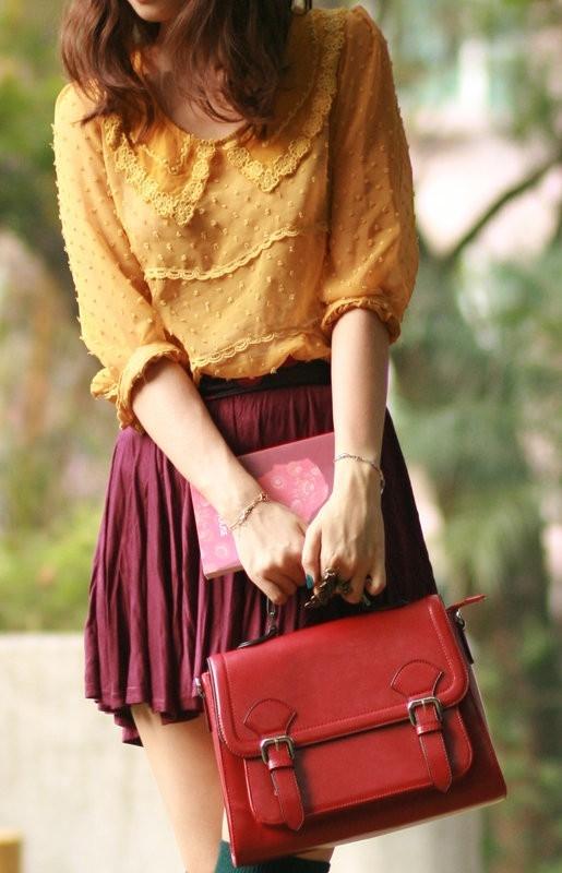 Wear a Pretty Blouse or Dress