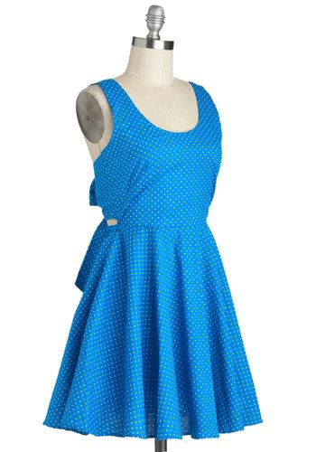 Sea and Santorini Dress