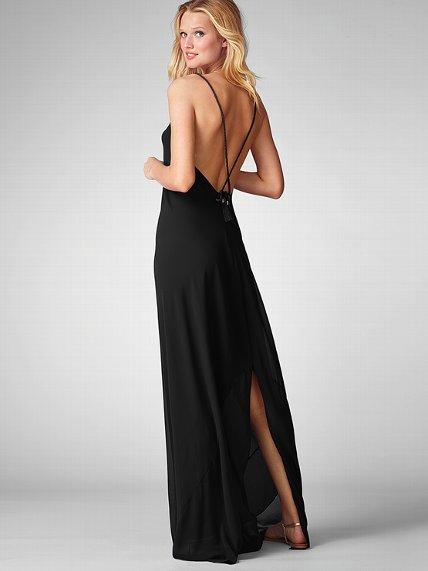 Tie Back Maxi Dress from Victoria's Secret