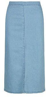 Denim-Look Skirt