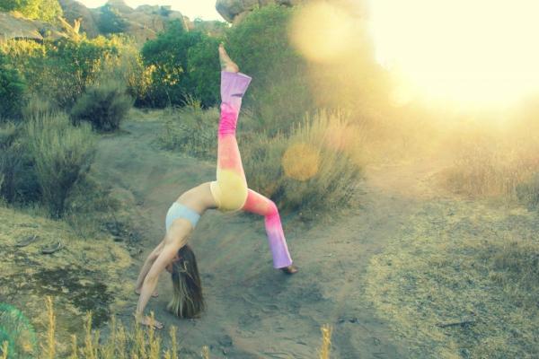 Himalayan Sunrise Organic Yoga Pants