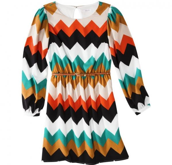 Bold Chevron Dress