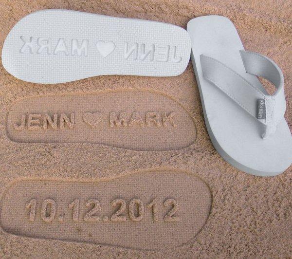 Custom Wedding Sandals
