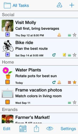 Errands to-do List